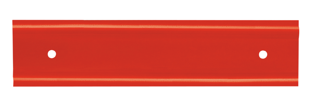 Bande en acier nervurée, longueur 180 mm