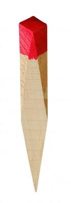 Piquet bois peint
