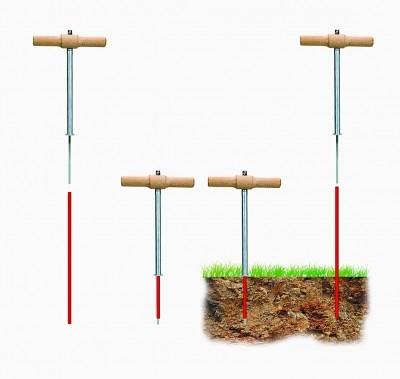 Plantoir pour tuteur jalonnette