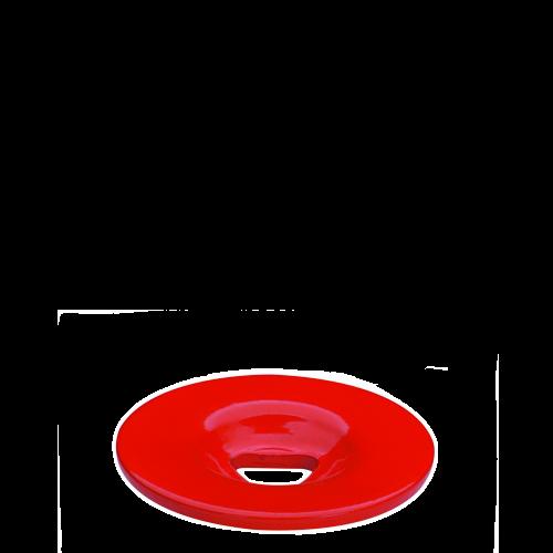 Borne Avec Tête Extra Plate Acier
