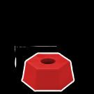 Borne Plastique Hexagonale NEUTRE