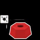 Borne Plastique Hexagonale OGE